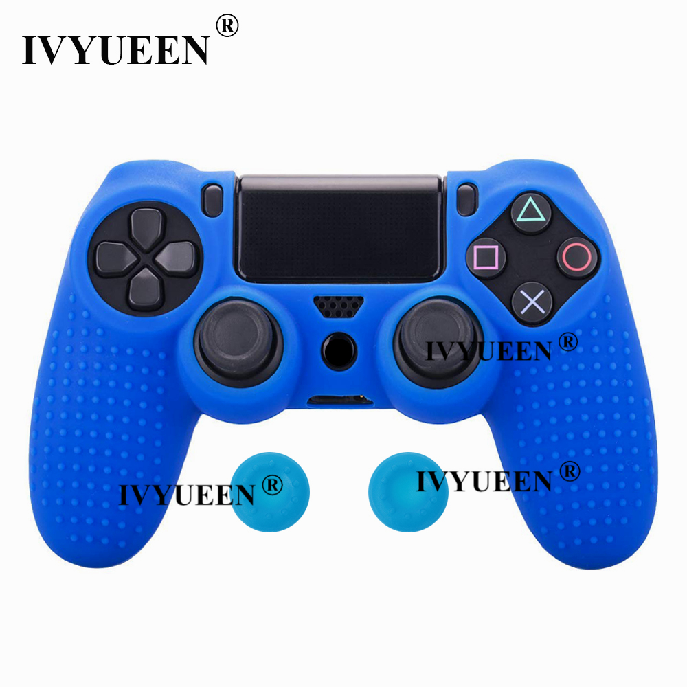 for Sony PlayStation dualshock 4 ps4 pro slim controller silicone case skin 06