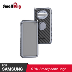 SmallRig smartphone rig Pro Mobile Phone Cage for Samsung S10+ for Vlogging Phone Rig 2441