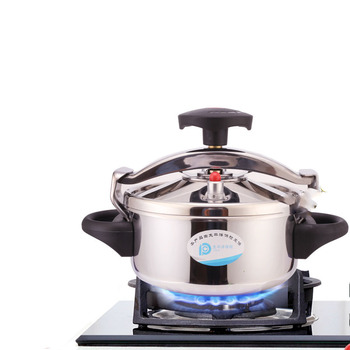 Pressure Cooker Color Stainless Steel Small Pressure Cooker Induction Cooker Gas Home Cooker Pressure Cooker Rings Autoclave фото