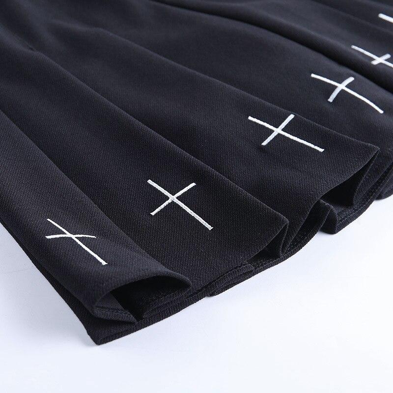 Lolita Black Pleated Skirt 5