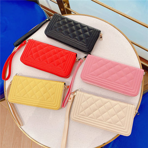 Image 3 - Multifunction Luxury leather wallet card Crossbody chain phone Bag for iphone 11 12 Pro max XS MAX X XR 7 8 plus for Samsung S20