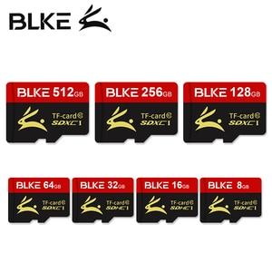 Карта памяти micro sd BLKE, высокоскоростная карта памяти 16 Гб, 32 ГБ, 64 ГБ, 128 ГБ, 256 ГБ, для смартфона, камеры видеонаблюдения, планшетного компьютер...