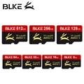 Micro sd карта памяти BLKE, 16 ГБ, 32 ГБ, 64 ГБ, 128 ГБ, 256 ГБ