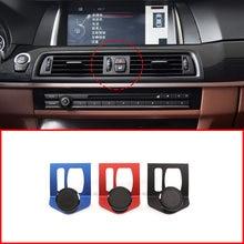 Liga de alumínio suporte de navegação do telefone móvel para bmw série 5 f11 f10 f07 2010-16 5 série gt acessórios interiores do carro