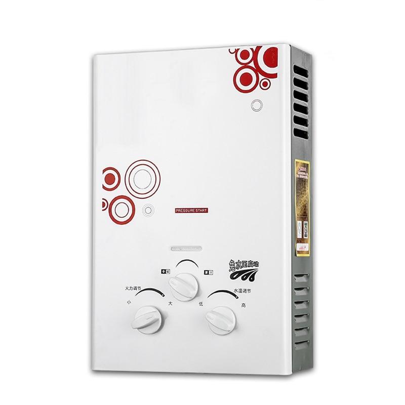 Нагреватель горячей воды, 100% качество, 6 л, натуральный газ, пропановый Нагреватель без бака, бойлер для душа, новинка 2019|Газовые водонагреватели|   | АлиЭкспресс
