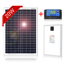Dokio 18V 20W Solar Panel China Small Solar Battery Polycrystalline Silicon Paneles Solares Sets Kits Waterproof Outdoor Panels
