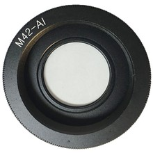 M42 Lens Adapter Ring M42-AI Glass for M42 Lens to Nikon Mount with Infinity Focus Glass DSLR Camera D3100 D3300 D7100(China)