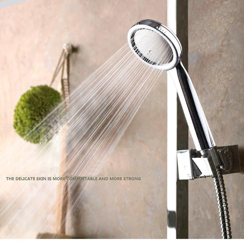 SHAI New arrival High Pressure Shower Head Bathroom Water Saving Shower Head Powerful Boosting Spray Bath Handheld Shower Head 6