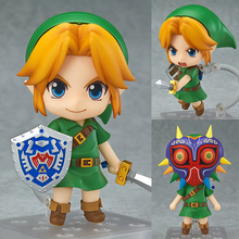 2Faces Transform Toy Action Figures Zelda Link Mask Figure Toy 553 Joints Movable Action Figure The Adventure of Link Figure Toy batman the joker action figures 1 12 with real clothing mezco movable model toy