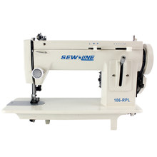 Portable Heavy-Duty Sewing Machines Zigzag Stitch 9'' Arm Leather & Walking Foot/Long Than Sailrite, Sailmakers, Boaters,DIYers