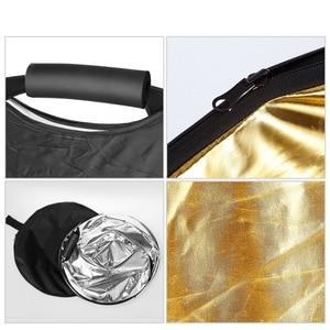 "Image 2 - Selens 5 ב 1 נייד רב 40 ""x 60""/100x150CM מצלמה תאורת רפלקטור/מפזר ערכת עם תיק נשיאה עבור צילום"