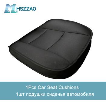 Bardzo luksusowy fotelik samochodowy ochrony pojedyncze siedzenie bez oparcia PU senior leather pokrycie siedzenia samochodu dla większości czterodrzwiowy Sedan i SUV tanie i dobre opinie MHSZZAO Cztery pory roku Sztuczna skóra 52cm Pokrowce i podpory 0 5kg 51cm four seasons
