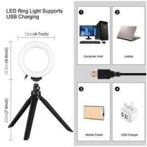 Image 2 - PULUZ Portable Softbox 30*30CM boîte à lumière Studio LED Photo Lightbox et 6 couleurs décors pour la photographie de table LED boîte déclairage