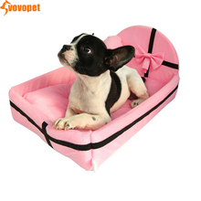 Pet dog cat bed house with Cushion Cotton Winter Warm kitten nest beds Puppy Kennel soft cozy pet mat for Small Medium dogs