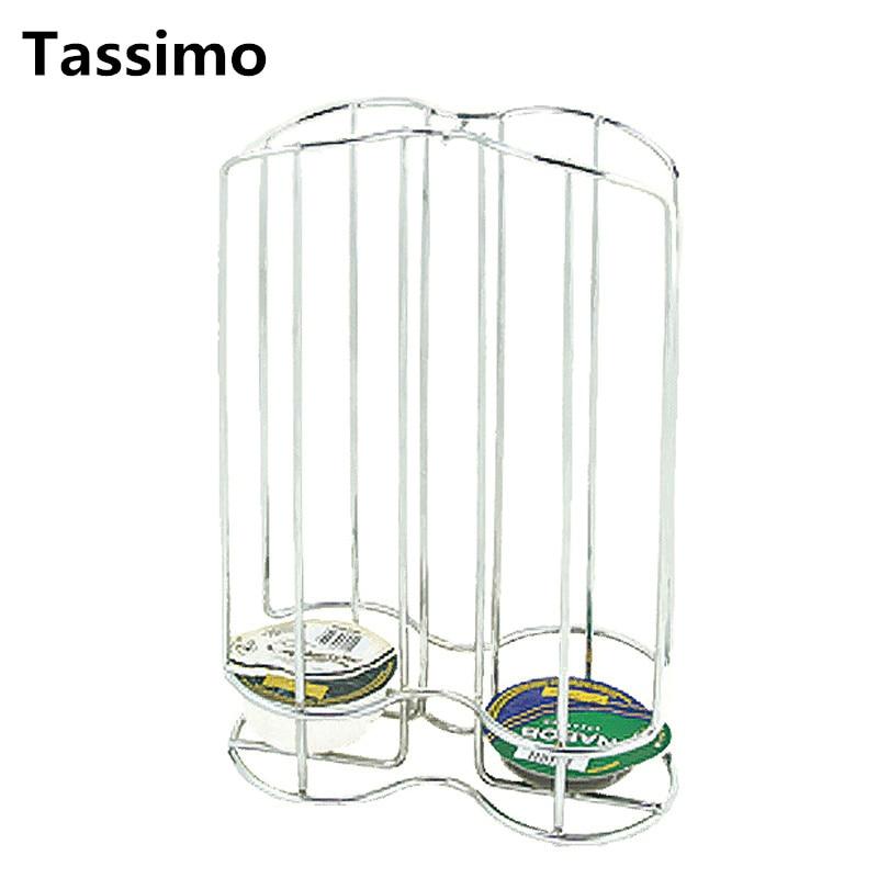 2020 Capsule Coffee Pod Holder Metal Stand Coffee Display Rack Capsules Storage Organizer Tool For 32PCS Capsules