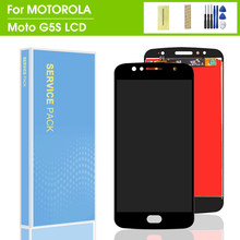 5.2 ''affichage pour Motorola Moto G5S XT1793 XT1794 XT1792 XT1795 LCD affichage numériseur écran complet assemblée remplacement