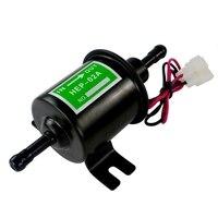 Universal 12V Heavy Duty Electric Fuel Pump Metal Solid Petrol Inline Fuel Pump Gasoline Transfer Pump 12 Volts HEP 02A|Fuel Pumps|Automobiles & Motorcycles -