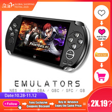 PSP Video Retro Game Console X9 PSVita Handheld Game Player for PSP Viat Games 5.0 inch Screen TV  Out with Mp3 Movie Camera