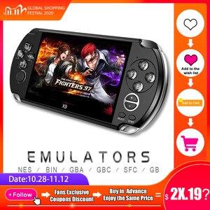 Image 1 - PSP جهاز تحكم ألعاب الفيديو ريترو X9 PSVita مشغل ألعاب محمول باليد لألعاب PSP Viat شاشة تلفاز 5.0 بوصة مع كاميرا أفلام Mp3