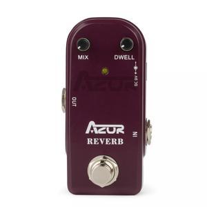 Image 2 - AZOR AP311 Reverb Đàn Guitar Mini Tác Dụng Bàn Đạp Reverb Đàn Guitar Mini Đạp 9V Phần Guitar Phụ Kiện Reverb Đạp Chân Hiệu Quả