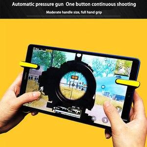 Image 3 - Kontroler wyzwalacza PUBG dla tabletu Ipad pojemność L1R1 przycisk celu ognia wyzwala Gamepad Joystick dla tabletu Ipad FPS gra