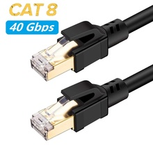 Cat 8 Network RJ45 SFTP LAN kabel krosowy skrętka drut wsparcie szybki 25 gb/s 2000MHz dla modemu, routera, komputera, PS4, Xbox One
