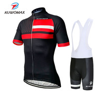 KUWOMAX 2019 Men Pro Short Sleeve Cycling Jersey Set Racing Bike Clothing Bicycle Clothe Summer Quick Dry Maillot Ropa Ciclismo.