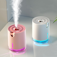 Water Pattern Wireless Air Humidifier Ultrasonic USB Rechargeable Aroma Air Essential Oil Diffuser For Travel Office|Humidifiers| |  -