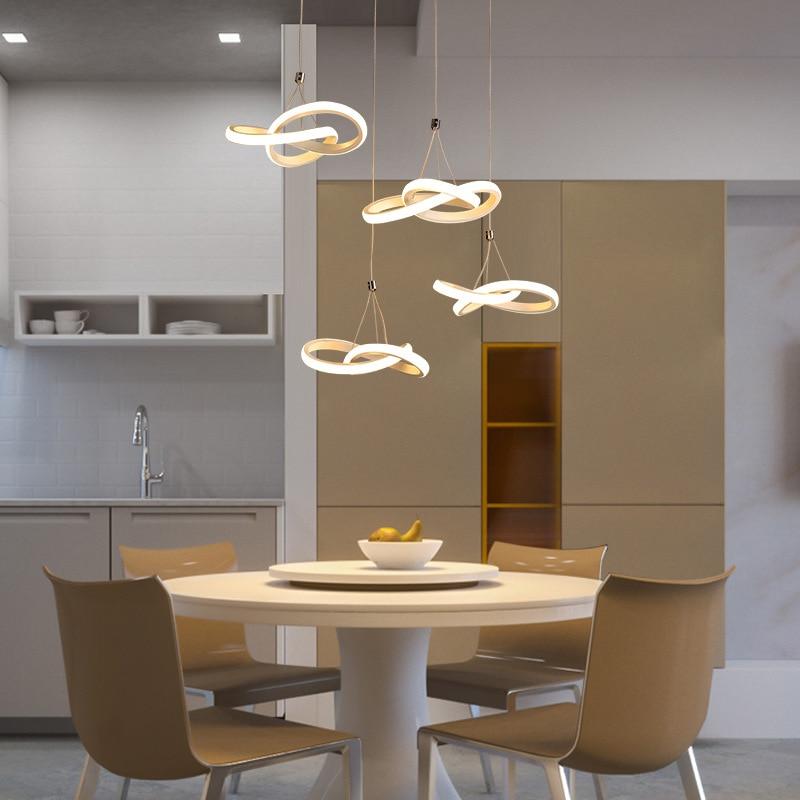 Modern Led Pendant Light Hanging Lamp Art Deco Lighting Fixture Dining Room Living Room Coffee Bar Restaurant Lights Pendant Lights Aliexpress