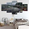 Fotos da Arte Da Parede Da lona Impressa Pintura Painel 5 Nurburgring NL009 Rally Road Módulo Cartaz de Decoração Para Casa Para Sala de estar