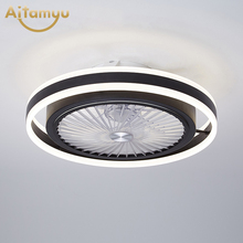 Modern 50cm Smart Ceiling Fan With Light Remote Control fFans With Lights Air Cool Bedroom Decor Children's room kindergarten