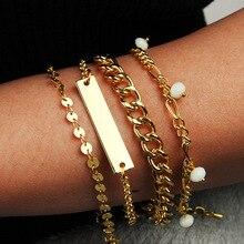 docona бохо панк браслет для женщин браслеты цепи браслет ювелирные изделия браслеты pulsera хомбре браслет Шарм bransoletka подарок