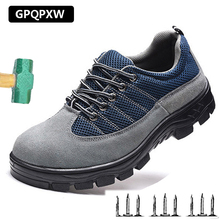 Outdoor Odor-resistant Wear-resistant Safety Shoes Oil-resistant Acid and Alkali Work Shoes Smash-proof Puncture mMen's Boots 8in1 cat stain and odor exterminator nm jfc s
