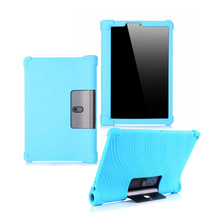 Soft-Silicone Tablet 10.1 Lenovo Yoga Case Cover for Tab-5/yt-X705 Back-Skin-Covers 30pcs/Lot
