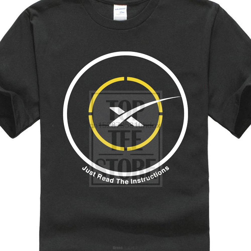 SpaceX Just Read The Instructions Drone Ship First Stage Landing T Shirt