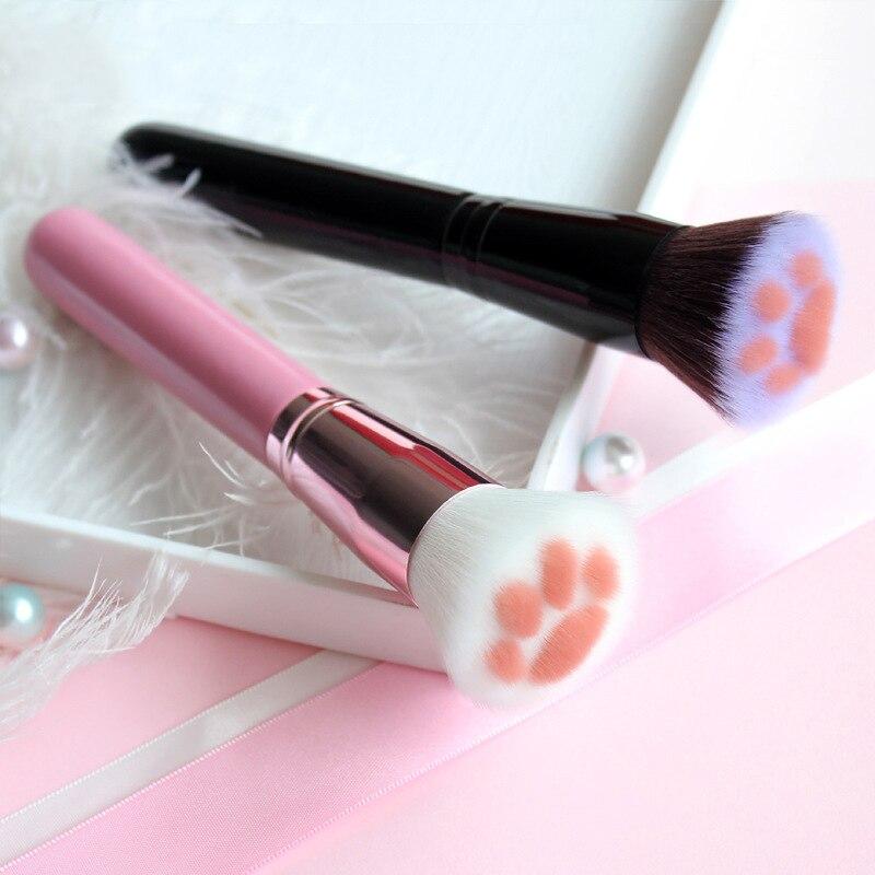 Makeup Brush Cat Claw Shape Makeup Brushes Foundation Blush Contour Powder Brush Cosmetic Makeup Brushes Beauty Tool Maquiagem