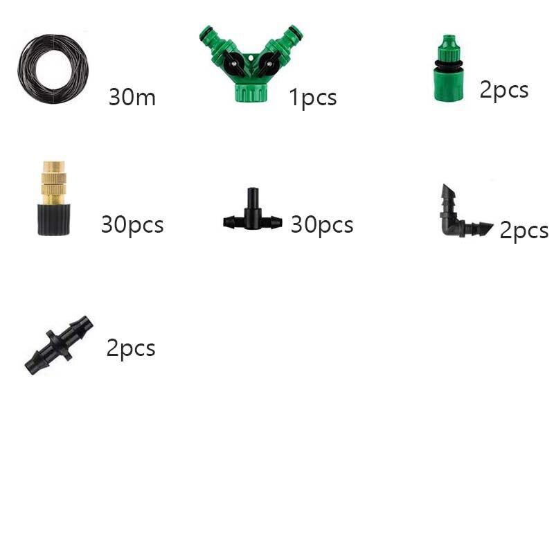 30m brass spray
