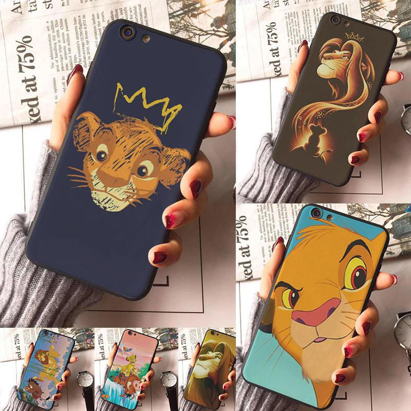 The Lion King New soft Case For iphone X XR XS Max 8 8plus 7 7plus Accessories Cell phones For iphone 6s 6s Plus 6 6plus 5s