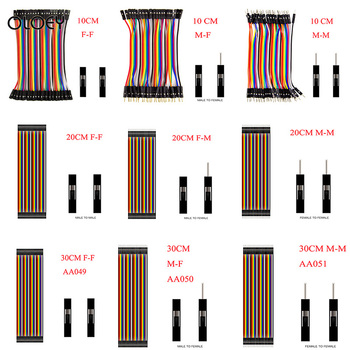 40PIN 10CM Uno R3 Line Dupont Line   Male to Male  Dupont Lighter Female Jumper Dupont Wire Cable For Arduino DIY KIT 40pin 10cm 20cm 30cm dupont line male to male female to male and female to female jumper dupont wire cable for arduino diy kit