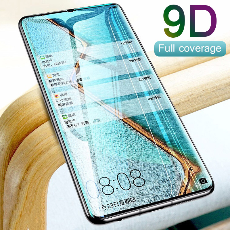9D Hard Tempered Glass For Huawei Y6 2019 Screen Protector For Huawei Y9 Prime 2019 Protective Glass On Huawei Y5 Y7 Pro Film