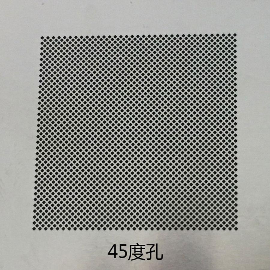 Amaoe  BGA Reballing soldering stencils 0.3 0.35 0.4 0.5 parallel 45 degree hole/misaligned hole Universal BGA Reballing Stencil 5