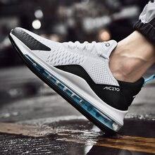 Zapatillas deportivas de malla transpirable para hombre, calzado deportivo resistente al desgaste, con amortiguación de aire, 270, a la moda, novedad, 2020