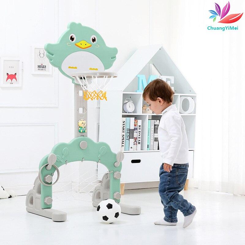 Indoor Plastic Basketball Backboard Hoop Basketball Box Mini Basketball Board For Game Children Kids Sport Toy Height Adjustable