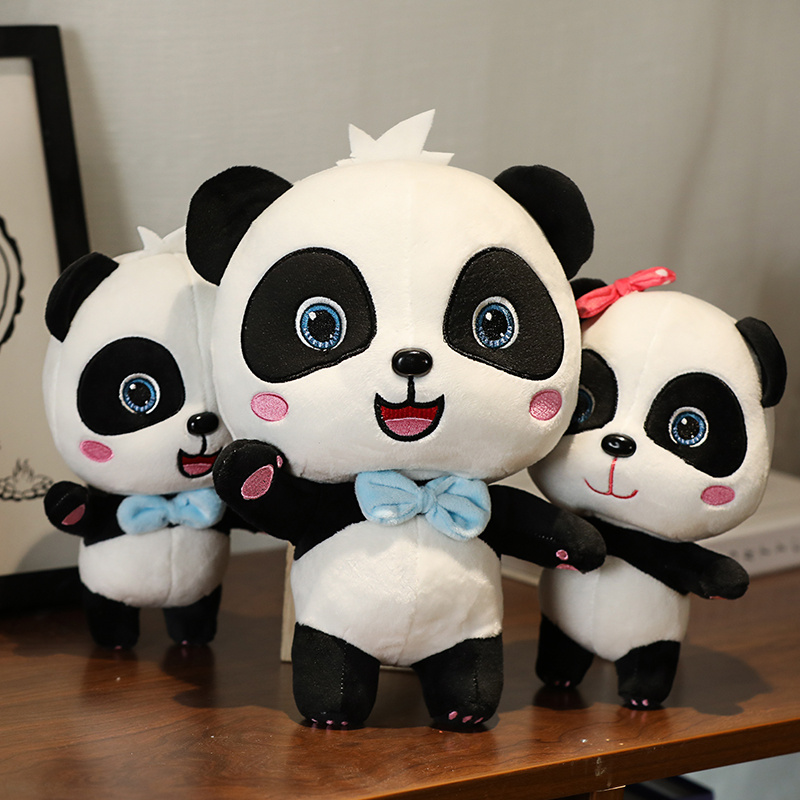 Мягкие игрушки-животные, куклы для детей, для мальчиков, детский подарок на день рождения, Рождество, BabyBus 22-55 см, милая панда, плюшевые игрушк...