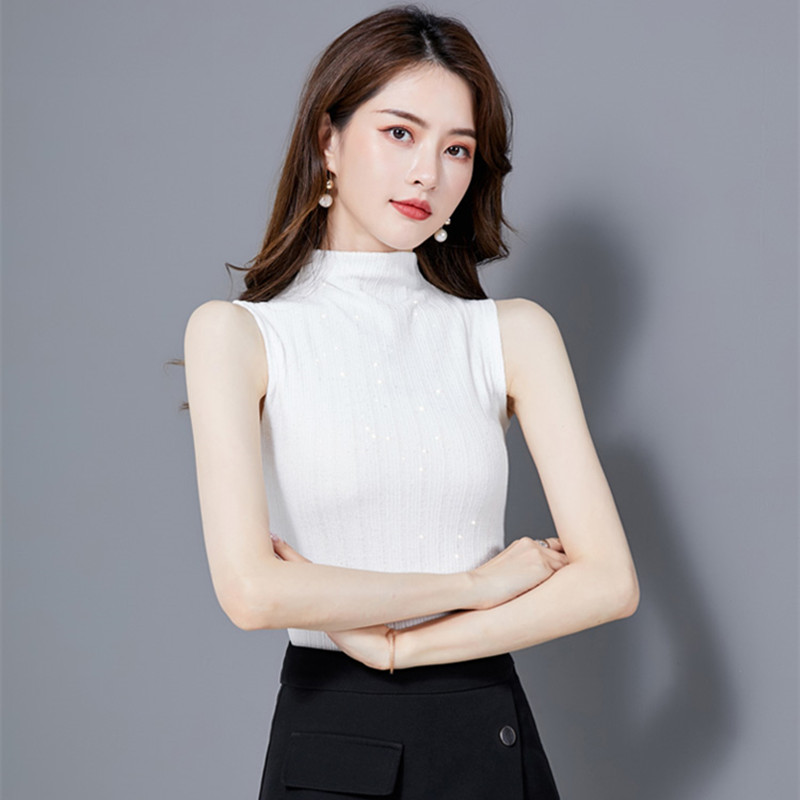 Korean Fashion Women Blouses Woman Sleeveless Blouse Shirt Plus Size Womens Tops and Blouses Blusas Mujer De Moda Camisas Mujer