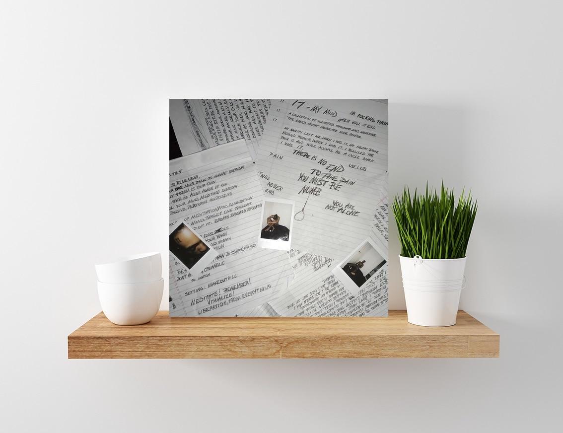 "XXXTentacion 17 poster wall art home decoration photo print 24/"" x 24/"" inches"