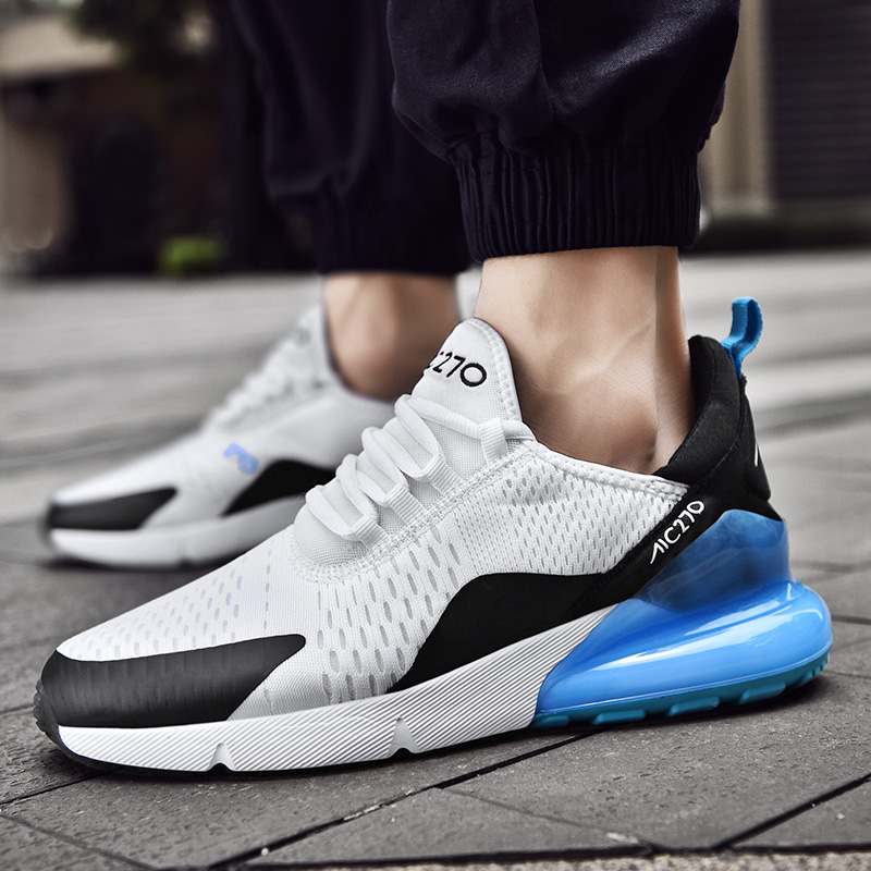 Running Shoes Men Sneakers Breathable Zapatillas Hombre <font><b>270</b></font> Couple Fitness Sneakers <font><b>Women</b></font> Gym Trainers Outdoor Sport Shoes Men image