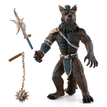 New Model Toy Weapon Simulating A Wild Animal Werewolf Warrior Dolls Toys for Children