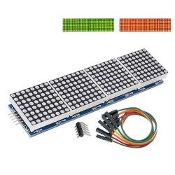 Модуль точечной матрицы max7222, модуль микроконтроллера 4 в 1, дисплей C14, красный/зеленый