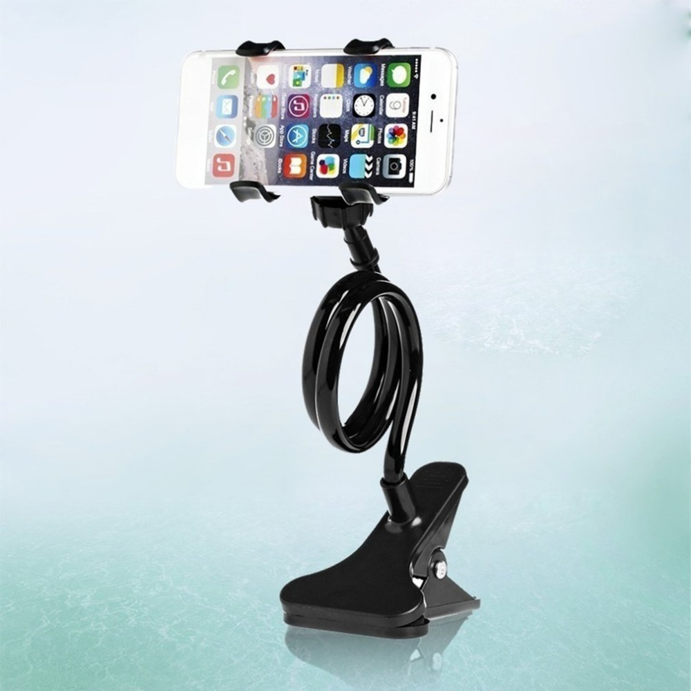 Universal Phone Holder Lazy Bed Desktop Car Phone Stand Mount Holder Accessories 360 Degree Stand Clip For Cell Phone
